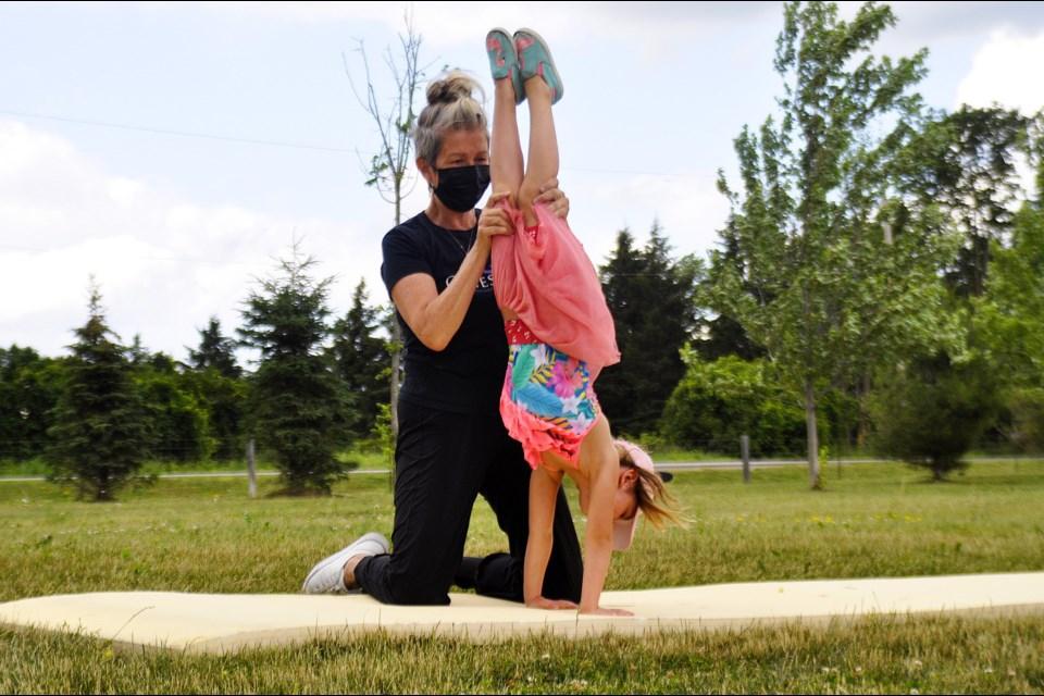 Genesis Gymnastics hosting free outdoor classes for kids (10 photos)